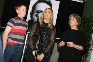 Oral Transmission of Oriel song: Piaras Ó Lorcáin, Bláithín Mhic Cana and Pádraigín Ni Uallacháin singing her version of renewed song; Séamus Mac Murfaidh.