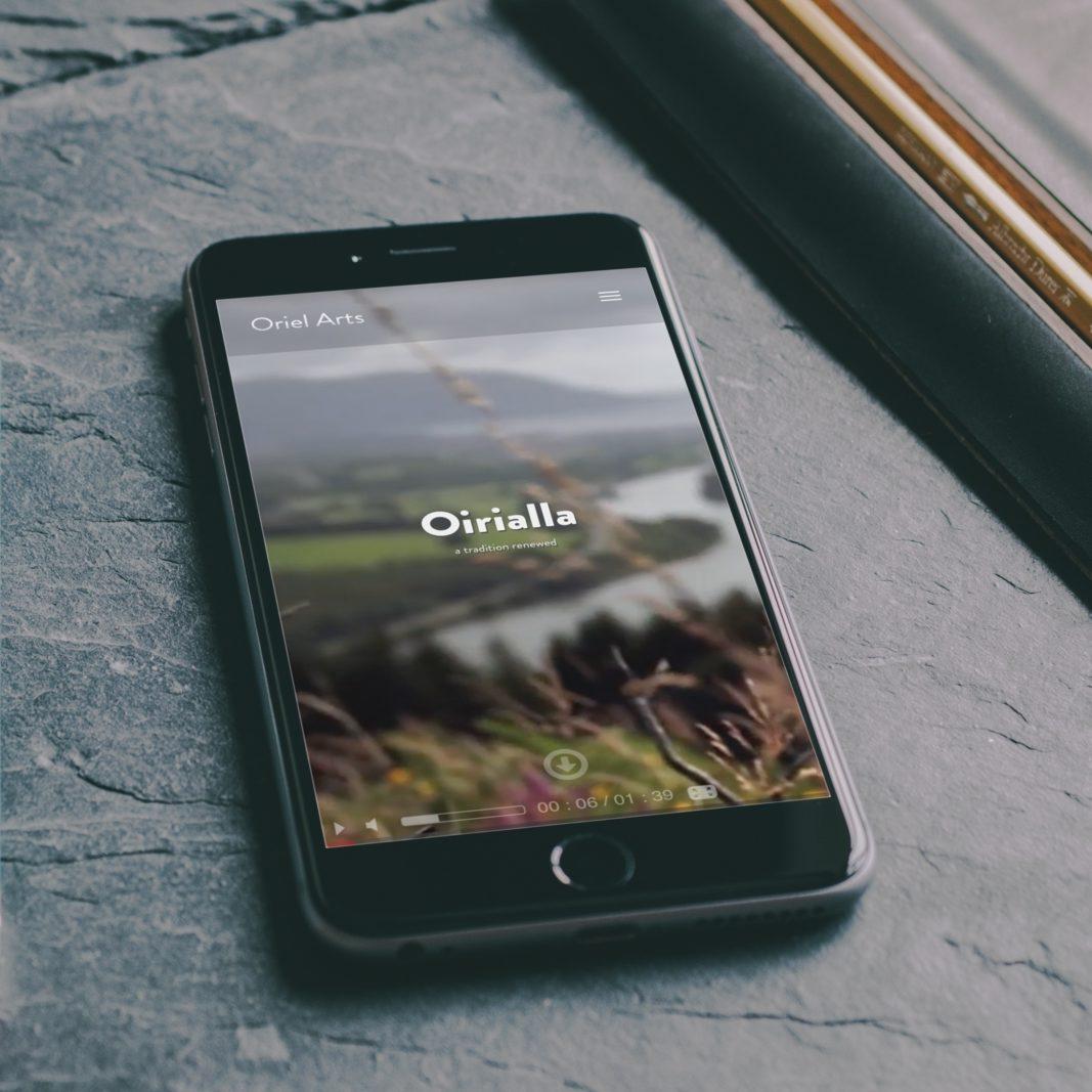 Oriel Arts - Mobile website